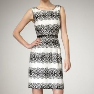 Kate Spade Lola Lace Print Sheath Dress